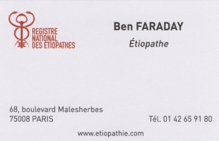 Cabinet d'Étiopathie COMMIN Christophe - FARADAY Ben photo
